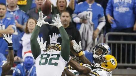 Green Bay Packers tight end Richard Rodgers (82)