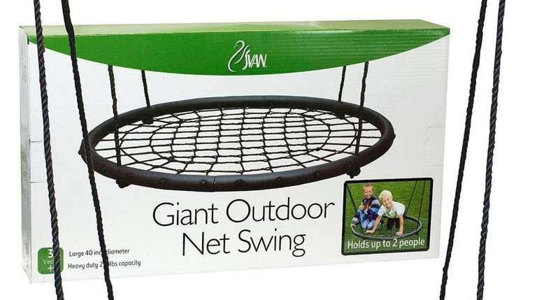 The Giant Outdoor Net Swing by Svan is