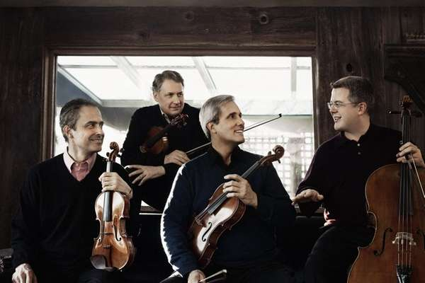 The Emerson Quartet will present the second in