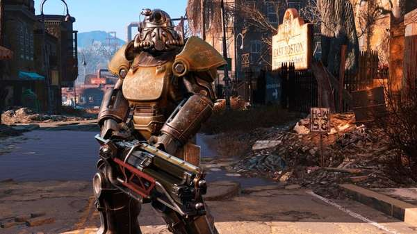 Fallout 4's most improved element is the gunplay