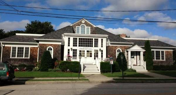 Quogue Community Hall is part of the Quogue