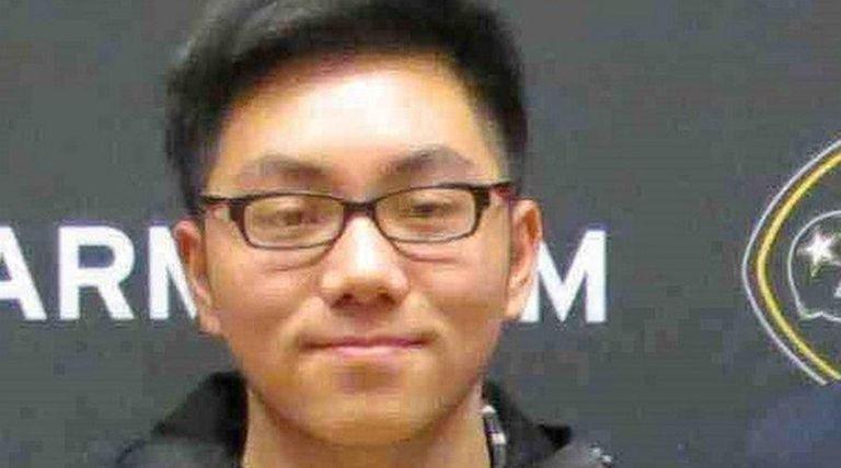 Elton Ha, a senior at East Meadow High