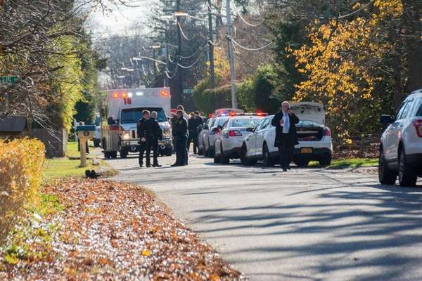Police responded Friday, Dec. 4, 2015, to the