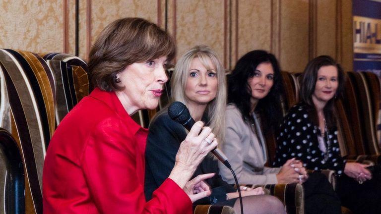 From left: Katherine Heaviside, president, Epoch 5 Public