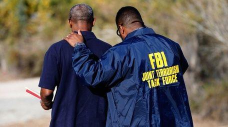 A member of the FBI Joint Terrorism Task