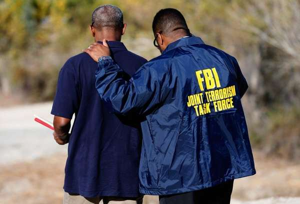 Members of the FBI Joint Terrorism Task Force