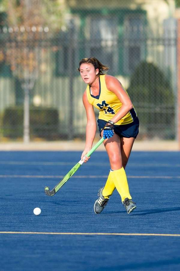 Michigan field hockey defensive midfielder Katie Trombetta, from
