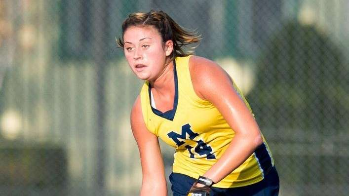 Michigan field hockey defensive midfielder Katie Trombetta, from