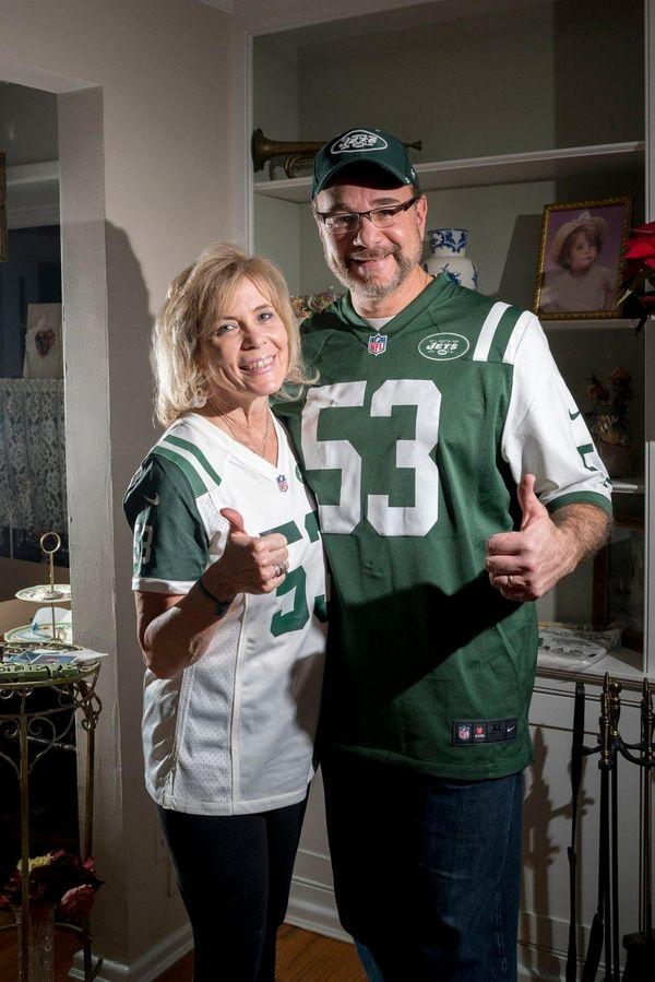 Barbara and Mike Catapano Sr. show their pride
