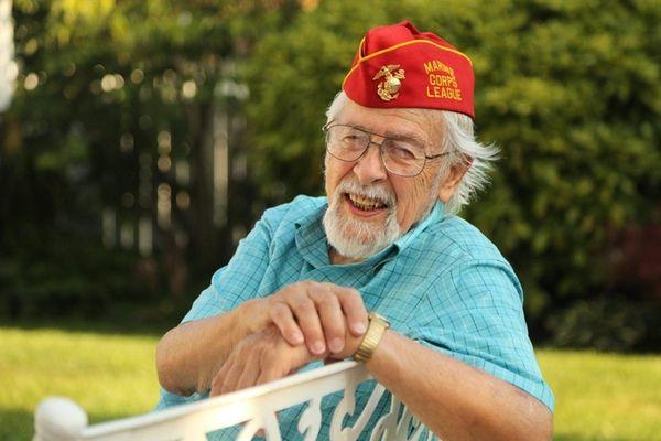 U.S. Marine Corps veteran Pete Fabregas, 89, of