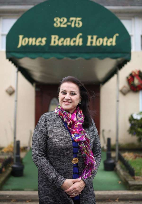 Ellie Rizo, president of the Jones Beach Hotel