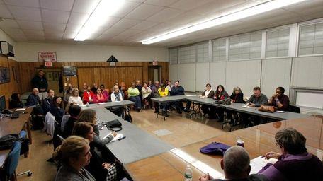 The Baldwin Civic Association discusses plans to reduce