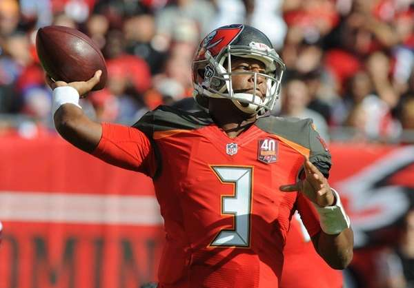 Quarterback Jameis Winston of the Tampa Bay Buccaneers