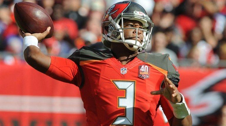 Quarterback Jameis Winston of the Tampa Bay Buccaneers