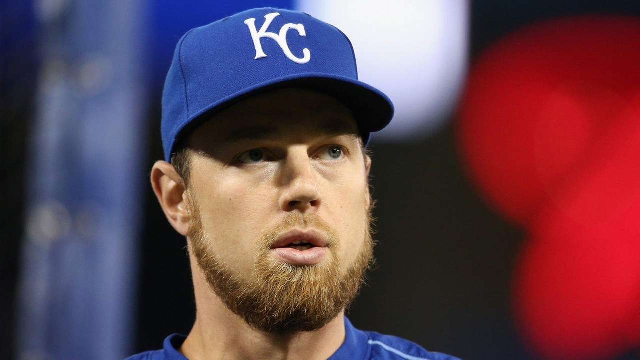 Ben Zobrist #18 of the Kansas City Royals