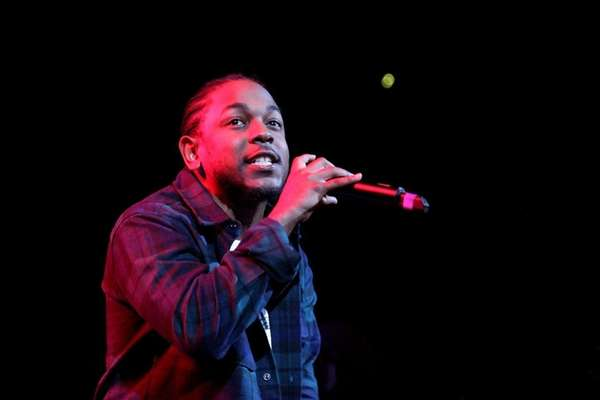 Kendrick Lamar performs during 105.1's Powerhouse 2015 at