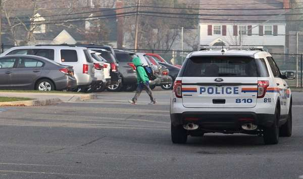 Nassau County police keep a watchful eye on