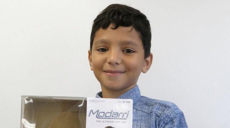 Kidsday reporter Angel Mercado tried out Modarri, The