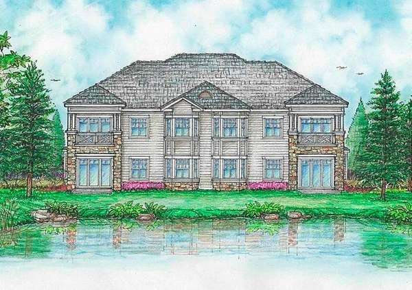 Architectural rendering by Robert M. Swedroe Architects and