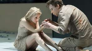 Sophia Anne Caruso and Michael C. Hall in