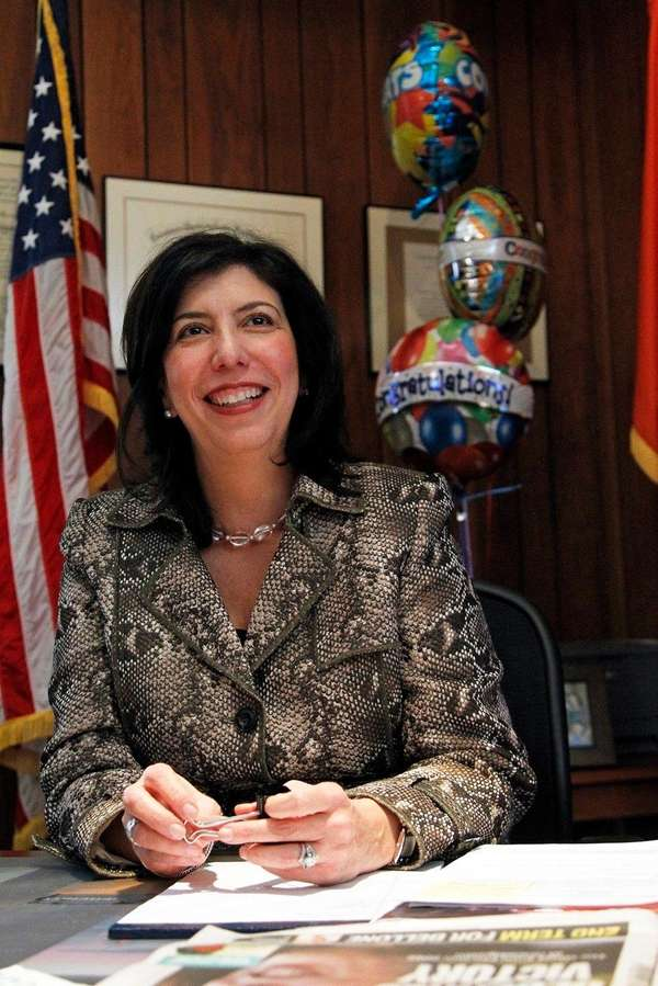 Acting Nassau District Attorney Madeline Singas in