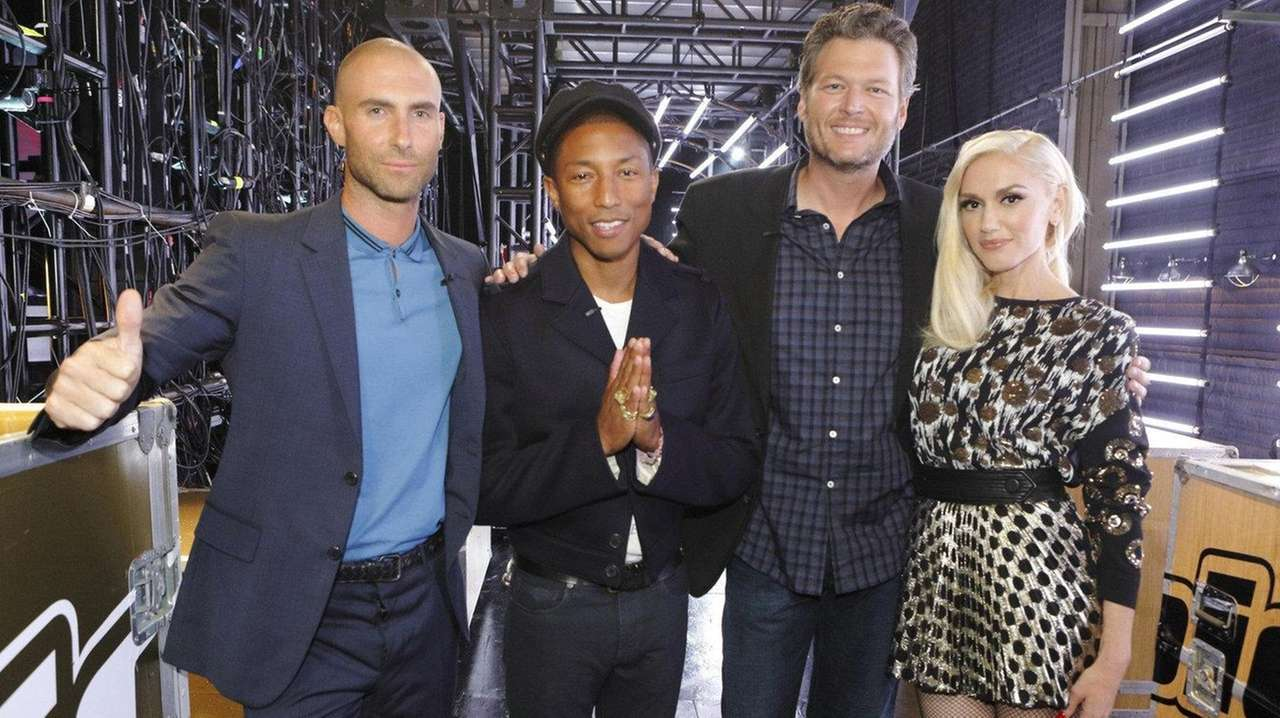 The judges of NBC's reality competition