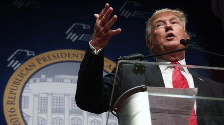 Donald Trump urged a ban on Muslims entering