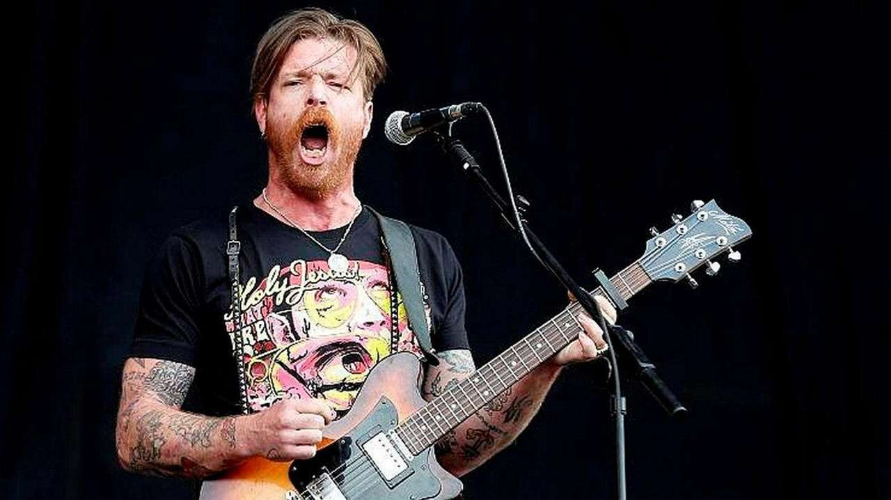 Jesse Hughes of Eagles of Death Metal, shown