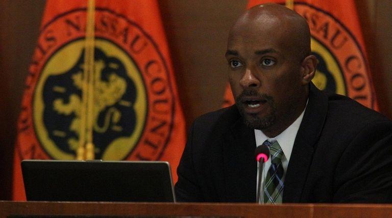 Nassau Legis. Kevan Abrahams discusses the contract process