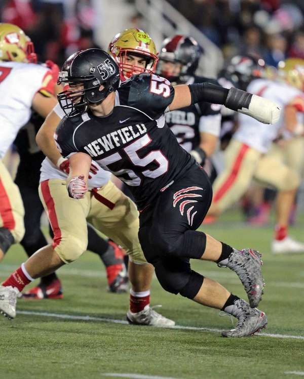 Newfield's Dylan Ferrari had 71 tackles, including 32