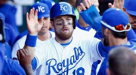 Ben Zobrist of the Kansas City Royals