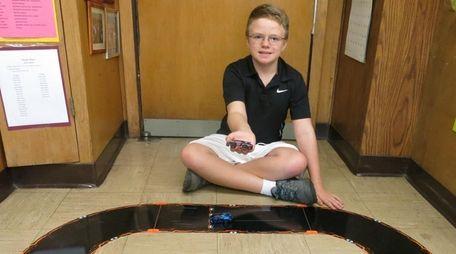 Kidsday reporter Matthew Farrugia tested the smartphone-controlled Anki