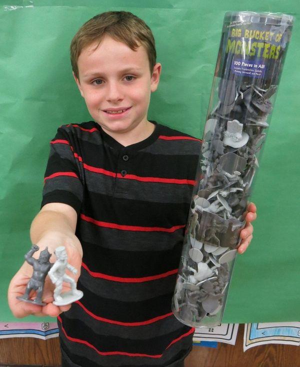 Kidsday reporter Robert Tuozzo tested the Big Bucket