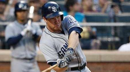 San Diego Padres second baseman Jedd Gyorko