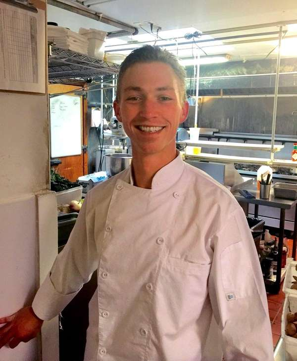 Stephen Bogardus, executive chef at North Fork Table