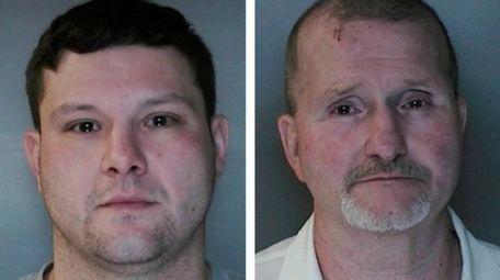 Joshua Rojek, 33, left and Paul Rojek,