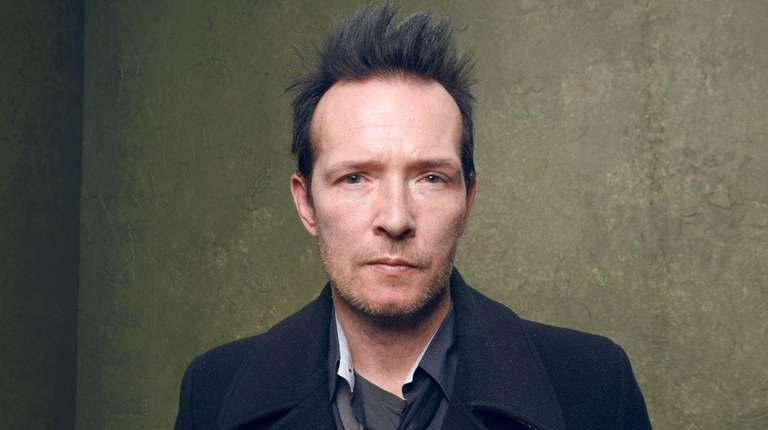 Musician Scott Weiland, formerly of the bands Stone