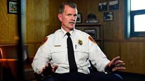 Newly appointed Suffolk County Police Chief of Department