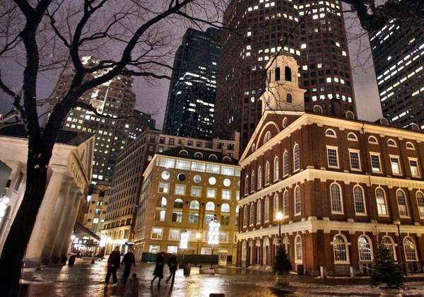 Faneuil Hall is one of the historic sites