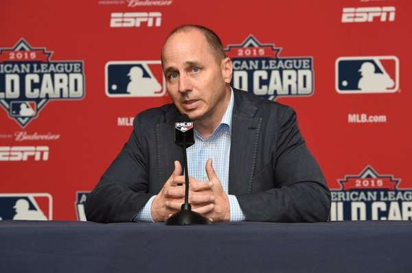 New York Yankees general manager Brian Cashman addresses