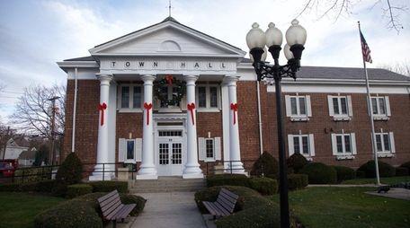 Smithtown Town Hall on Dec. 8, 2015.