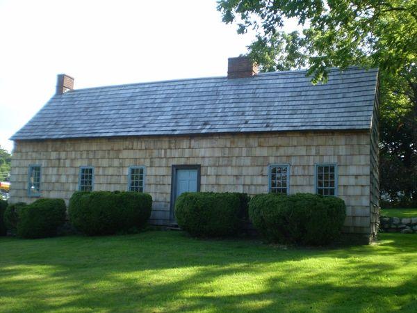 Brewster House in East Setauket is shown in