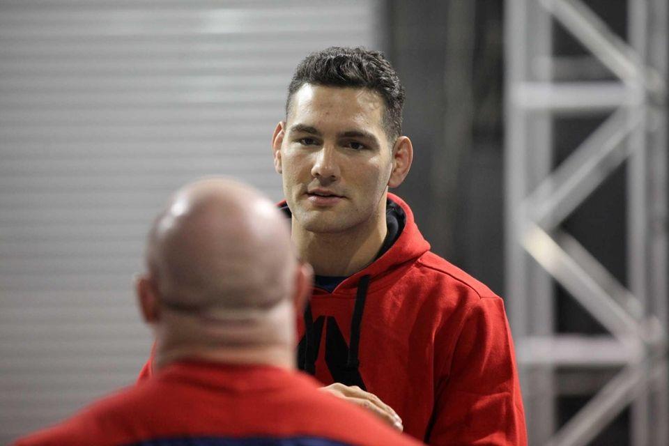 UFC middleweight champion Chris Weidman of Baldwin talks