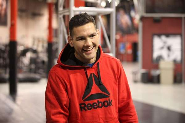 UFC middleweight champion Chris Weidman of Baldwin
