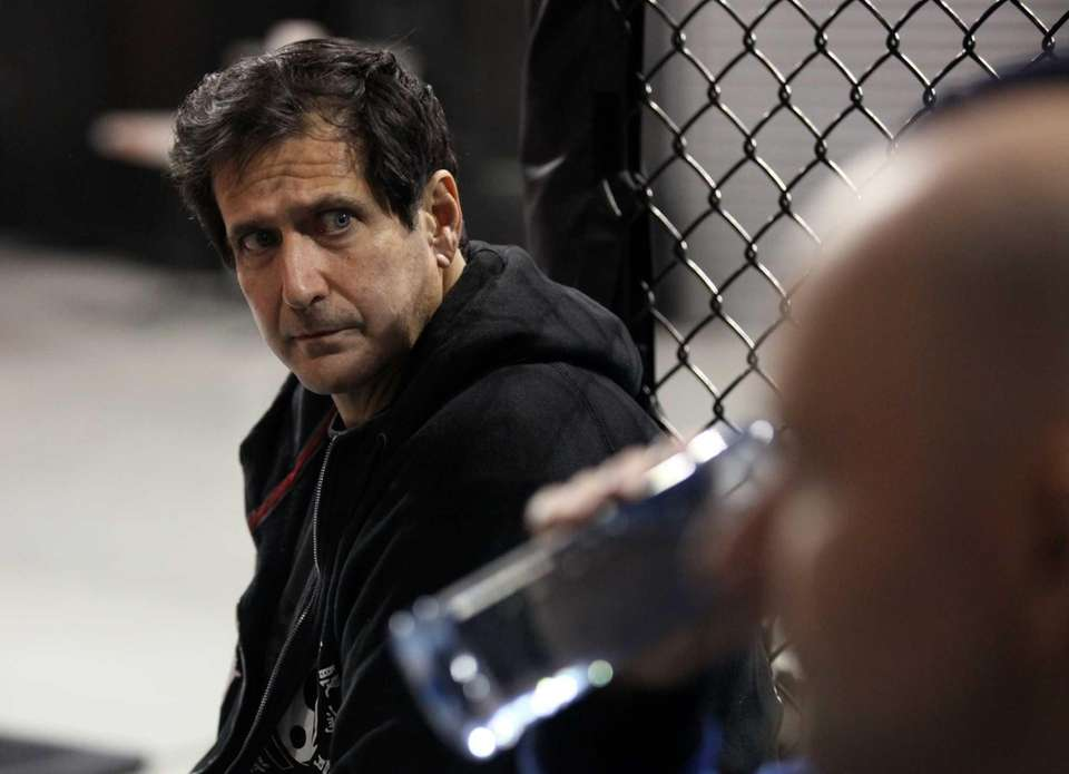 Ray Longo, trainer of UFC middleweight champion Chris