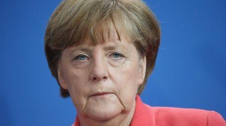 German Chancellor Angela Merkel was named Time magazine's