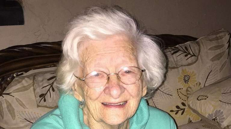 Elizabeth Coffey, of West Islip, who took in