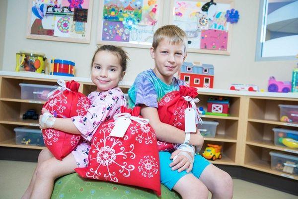 The Holiday Hugs Program kicks off at The