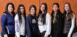 The 2015 Newsday All-Long Island girls' tennis team
