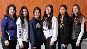 The 2015 Newsday All-Long Island girls' tennis team